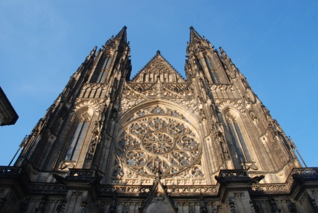 The Prague Castle Cathedral